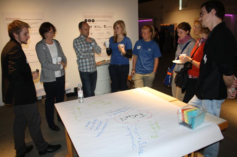 Auftakt-Konferenz Beteiligungswerkstatt Heidelberg