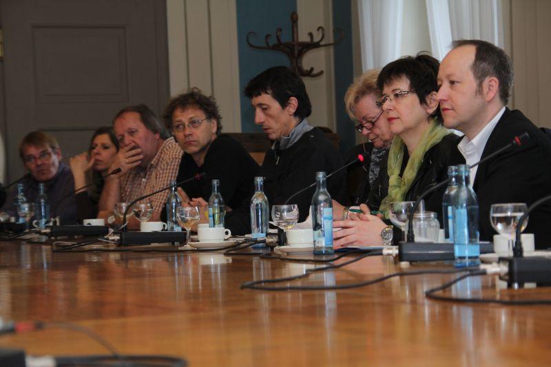 Besprechung mit Vertretern aus Montpellier