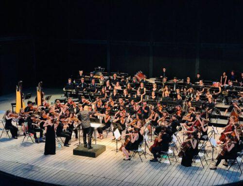 Abschlusskonzert des internationalen Austauschorchesters CHMYO 2021