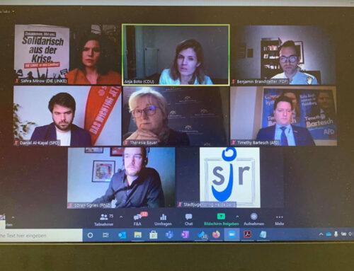 Virtuelle Podiumsdiskussion zur Landtagswahl