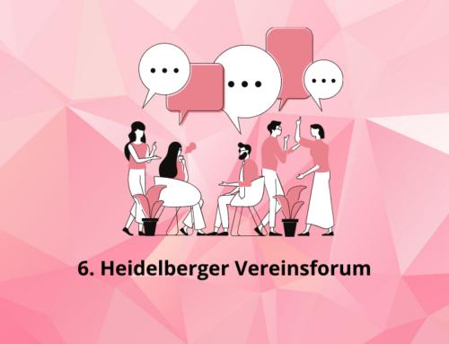 6. Heidelberger Vereinsforum