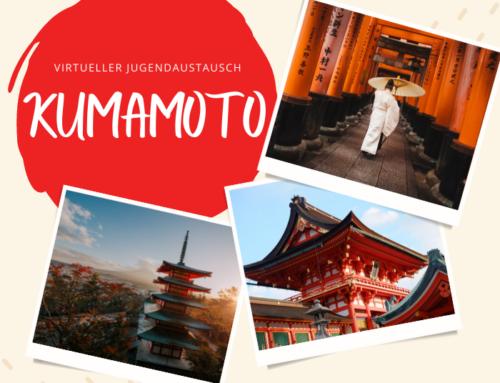 Teilnehmende für virtuellen Austausch mit Kumamoto gesucht